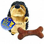 Lovable, yet tough and durable, stuffed toys have a squeaker inside to drive your dog wild. Each style is approx. 8 inches in max length.