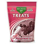 Made with natural peppermint oil and contains no additives, presrevatives or artificial flavoring. Treat your horse with a whole and nutritional reward.