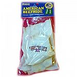 These American Dog Rawhide Chips are available in a 4 oz. size and are made in the USA with cow hide that comes from FDA and USDA inspected and approved facilities. Sealed for freshness in a PVC bag, your dog will love these great tasting chews.    R