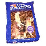 Ultra-Blend Ferret Diet is available in a 20 lb. bag and contains the balanced life-cycle nutrition that a ferret's diet requires. Formulated with a combination of high quality proteins that provide an optimum amount of amino acids. Superior taste!