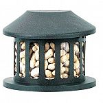 A great way to keep the squirrels away from bird feeders is to place a squirrel feeder in your garden. The Squirrel Diner II Feeder is a metal feeder that holds peanuts, corn and large seed. Has a durable chew resistant powder coated steel body.