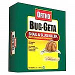8.5 pound box is the best consumer value. Reinforced handle makes the product easy to carry and apply. Ortho bug-geta snail and slug killer bait in 8.5 pound.