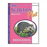 Your pet hedgehog will enjoy this nutritious blend of cheese, fruits, and vegetables. Nutrition Plus Food is low in iron and fat and provides your pet with a triple protein source. Formula helps to aid in digestion with added beneficial bacteria.
