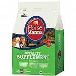 A vitality supplement for the maintenance and conditioning of horses. Enhances the nutritional value of any feed. High protein level (25 percent) for muscle development. Made with max-e-glo stabilized rice bran which provides a 6 percent fat level for ene