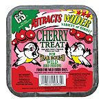 Your wild birds will really enjoy this unique cherry suet treat by C and S. Made with cherry flavoring, this treat will provide the extra energy needed for wild birds. C and S uses the highest quality ingredients to make their tasty suet cakes.