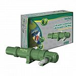 Tetra Pond GreenFree Clarifier includes an 18 watt UV Clarifier and isdesigned for ponds up to 4400 gallons. Dependable clarifiers use ultravioletlight to destroy the reproductive ability of suspended algae.