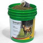 Strongid c 2x (pyrantel tartrate) is an equine anthelmintic designed to be fed on a daily basis. Strongid c 2x prevents migration of large strongyle (strongylus vulgaris) larvae. Administer as a topdress or mixed in the horses daily grain ration.