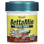 This blend of tiny, colorful floating crisps is an ideal stable diet for Siamese fighting fish (betta splendens). This advanced technology crisps food means up to 35% less waste.