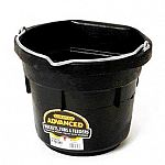 Little Giants Duraflex advanced rubber buckets are even more crack-proof, crush-proof, and freeze proof than plastic. Our design features a wider opening with convienient stacking ribs. 2 sizes - 8 and 12 qt.