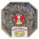 Our Seed Wreath is the perfect gift for the wild birds that provide enjoyment year round. Made the same way as C&S Snak products, it is a great gift idea for the bird lover!