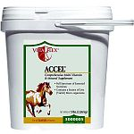 Vita Flex Accel Equine Vitamin Supplement gives your horse a balance of essential nutrients that it needs every day. Contains all water and fat soluble vitamins and various minerals to help maintain a healthy horse. It also helps to aid with digestion.