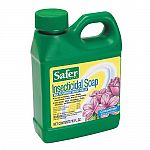 Insecticidal soap dries out the waxy outer skin of insects. Kills aphids, mealy bugs, spider mites, and whiteflies. Kills insects on contact, gentle on plants. Don t use on new transplants, newly rooted cutting or stressed plants. Avoid application when l