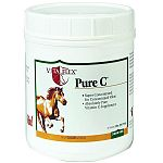 Pure C Vitamin C Equine Supplement by Vita Flex is made with pure ascorbic acid that tastes great and helps your horse produce more collagen and GAGs, a critical part of creating connective tissue. A tasty and economical supplement that is easy to adminis