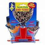 The Soda Bottle Bird Feeder Attachment easily and conveniently transforms any standard soda bottle into a bird feeder. Just fill a soda bottle with wild bird seed and screw it on the dispenser and hang on a hook or tree branch. Available in assorted color