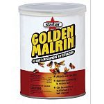 Golden Malrin features a unique blue color! Kills flies quickly. Sugar-based insecticide with muscamone fly attractant that encourages both male & female flies to remain in the treated area. Spread at a rate of 1/4 lb per 100-500 sq ft.