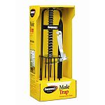 Trap and kill moles effectively without the use of chemicals or poisons. Designed for easy activation and equipped with a safety pin for secure operation. Mole trap, kills moles, easy activation.