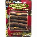 Apple Orchard Sticks are wood chews made from real apple trees. Sticks help to keep your pet's teeth trim when chewed regularly. Entertaining and fun to chew on! Pre-drilled and may be placed on the Super Pet treat ka-bob.