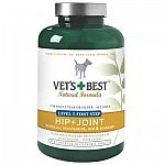 Help keep your dog's hips and joints in good shape with this supplement by Vets Best. Great for supporting normal healthy cartiliage, connective tissue, and joint mobility. Ideal for maintaining the synovial fluid, the body's natural joint lubracant.