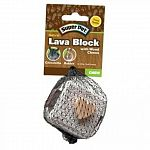 Features a unique combination of volcanic rock material with natural wood pieces. Helps keep your pet s teeth trim and clean while encouraging healthy activity. Ideal for rabbits, chinchillas or other small animals. Provides pets with hours of activity.