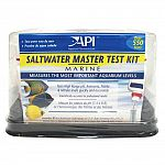A complete kit for testing marine aquarium water. Tests water four ways to protect marine fish and invertebrates from dangerous water conditions.