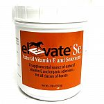 Supplemental source of natural vitamin e and organic selenium for all classes of horses. Feed 1 scoop per day mixed in the grain ration of horses if current ration is inadequate in vitamin e and selenium.