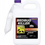 Odorless and non-staining. Contains deltamethrin insect control. Kills on contact. Works for up to 4 weeks. Kills adults and nymphs.  Excellent, long lasting control of bedbugs. Great for travelers who want to protect their luggage.