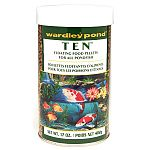 Ten Pond Pellets is made for Koi and Goldfish is easy to digest and formulated to provide your fish with energy and nutrients. This healthy program is a great diet for all types of pond fish and helps to enhance your fish's natural color.