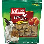 Crunchy hay treat baked with apples for small animals. APPLE Size: 4 OUNCE