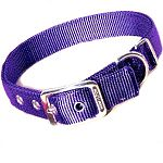 Hamilton's Deluxe dog collar is made from double thick premium 1 inch nylon and the finest and strongest hardware available.Deluxe Double Thick Dog Collar