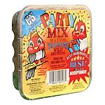 Have a part in your backyard with the Party Mix Suet Cake by C and S. Contains peanuts and raisins that are sure to attract a wide variety of birds to your yard! Also, provides your backyard birds with the needed energy that they really need.