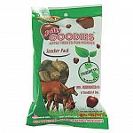 Jolly Goodies are an all-natural horse treat made from 100% pure dehydrated apples, without added fillers or sugar. These pellets are nutritious, easy to feed and won't leave a mess in your pocket. No preservatives.