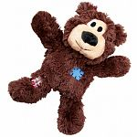 Soft and cuddly on the outside while durable and strong on the inside. Wild knots bears are sure to be a hit with dogs and their pet parents. Dogs love the knotted skeleton, and the reinforced plush body provides extra durability. Kong wild knots have les
