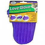 This grooming mitt is great for bonding with your cat and helps to get rid of mats and tangles. Glove helps to remove loose hair and is great for massaging your cat. Made especially for grooming your cat and gentle on your cat's skin.