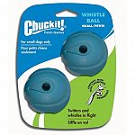 Made from natural rubber. Easy to clean. Twitters and whistles in flight. These dog whistle balls are compatible with the Chuckit ball launcher. Ball comes in a variety of colors and may not be as pictured.