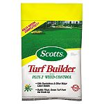 Super Turf Builder with Plus 2 Weed Control builds a healthy lawn that's ready for family fun - lush, green and without all those weeds. It builds thick, green turf from the roots up, kills weeds completely and is guaranteed not to burn your lawn.