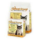 Made from all natural and 100% biodegradable wheat, Swheat Scoop Wheat Cat Litter works quickly and naturally to form clumps without chemicals or clay to help keep your kitty's litter box fresh and odor free. Available in 14, 25 or 40 lbs.