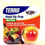 Ready to use and poison free. Fruit fly trap is designed to capture fruit flies in kitchens and other areas around the house. Designed to lure adult fruit flies using the special non toxic attractive liquid. Stops fruit fly breeding.