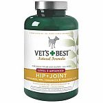 This effective hip and joint supplement by Vets Best is made with potent hip and joint ingredients including Glucosamine, MSM, Chondrotin, and Hyaluronic Acid. Ideal for supporting and maintaining healthy hip and joint function. Maintains synovial fluid.