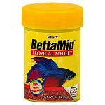 BettaMin is The Vibrant Blend that enhances color and fin development. Developed specifically for Bettas, this highly nutritious, high-protein formula is based on the diet Bettas consume in their natural environment.