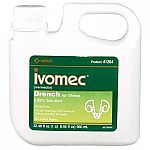 Ivomec controls 14 types of roundworms, all larval stages of nasal bots, and lungworms. Treats and controls gastrointestinal roundworms, including haemonchus contortis. It has a wide margin of safety safe in pregnant ewes, rams and lambs.