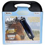 The km2+2.  Electric pet clipper with 2 blades (#10 &10w) for use on horses, dogs and cats. 1 year manufacturers warranty