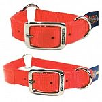 Hamilton quality Sporting Collar for safety and visibility outdoors. Available in orange. 1