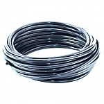 The Dare 50' Insultube Coil #2453 has many uses. Try placing under driveways and gates or to insulate one wire from another. This insulator features a black polyethylene tube which accommodates up to 12-1/2 gauge fence wire