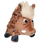 Plush Swirl Warthog Dog Toy - 14 in.