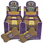 Display contains: 24 each gourmet select organic biscuits in grain and honey flavor. 2 displays per box.