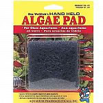 Indestructible cleaning pad made to reach the nooks and crannies of the aquarium. Removes algae quickly and easily. For glass aquariums only.