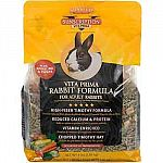 High in fiber and low in protein, this adult rabbit food is an ideal daily diet for a mature or adult rabbit. Made with timothy hay, which is great for adult rabbits. Available in two sizes.