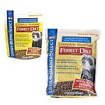 Complete Nutrition Ferret Diet is specially formulated to meet the high protein needs of a ferret's diet. Contains a combination of proteins and amino acids for health and growth. Also, fortified with taurine and essential vitamins and minerals.