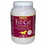 The ultimate 'equine sport' body builder. Fat-Cat's advanced formulation has been especially engineered to provide all horses with a powerful blend of nutrients designed to enhance optimal muscularity, sound firmness and peak fitness.