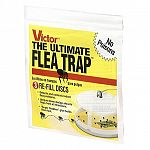 Keep your Victor Poison-Free Ultimate Flea Trap working its best with the Victor Poison-Free Ultimate Flea Trap Refills. 3 refill traps per envelope. Perfect for the Victor(R) Ultimate Flea Trap